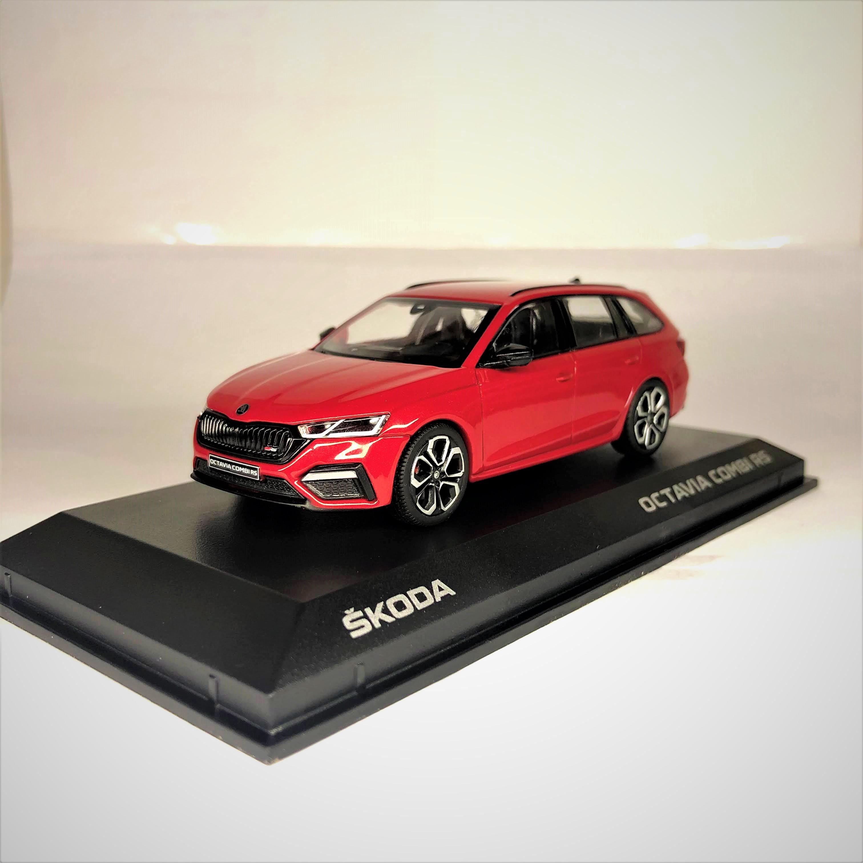 I Scale Skoda Octavia Iv A8 Rs Combi 1 43 Red Velvet 5e7099300a F3p 5e7099300af3p