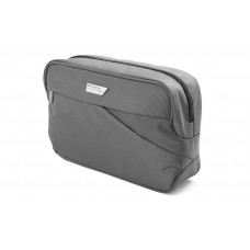 Black travel cosmetic bag