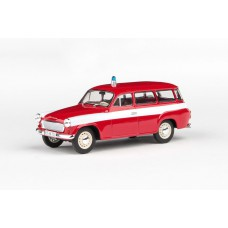 Abrex Skoda 1202 Fire protection 1:43 Red