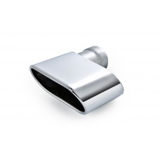 Exhaust pipe end piece for Octavia II 1.4 MPI and 1.6 MPI