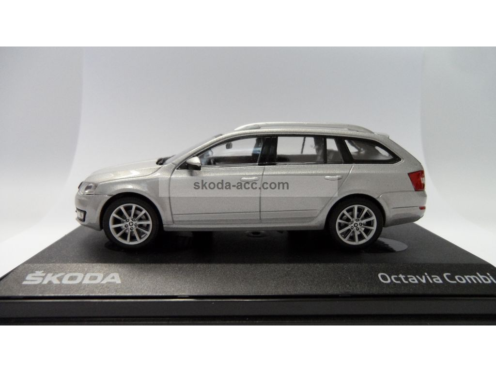 skoda octavia iii combi 1 43 silver brilliant metallic. Black Bedroom Furniture Sets. Home Design Ideas
