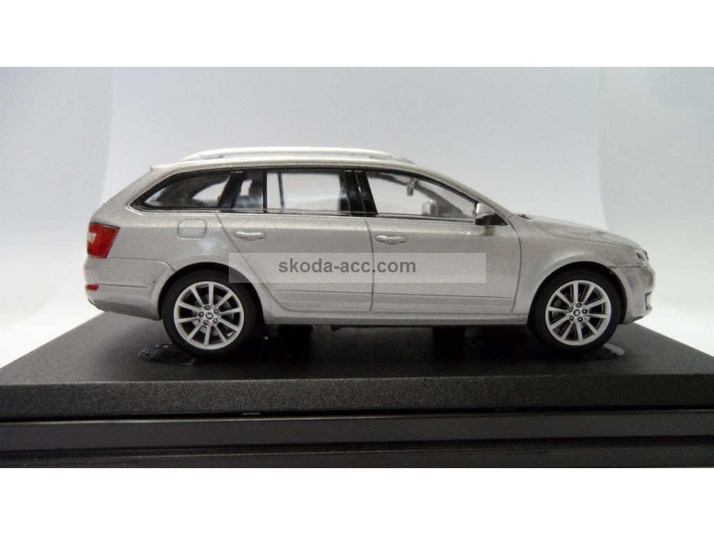 skoda octavia iii combi 1 43 silver brilliant metallic 143ab027ab. Black Bedroom Furniture Sets. Home Design Ideas