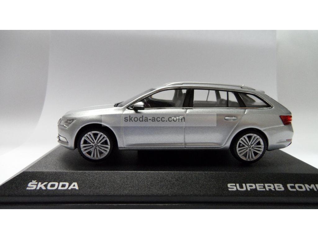 skoda superb iii combi 1 43 silver brilliant 3v9099300a7w. Black Bedroom Furniture Sets. Home Design Ideas
