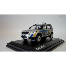 Yeti Police Czech Republic 1:43