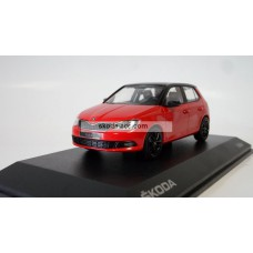 Fabia III 1:43 Corrida Red, Black roof