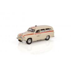 Abrex Skoda 1201 (1956) Ambulance - Rescue 1:43