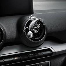 Audi Design gecko in an aluminium look 80A087000