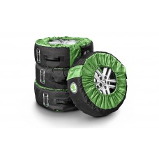 Set of tyre covers