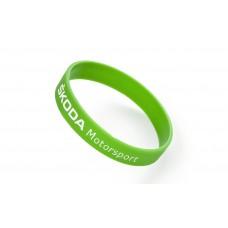 Bracelet green fluorescent silicone
