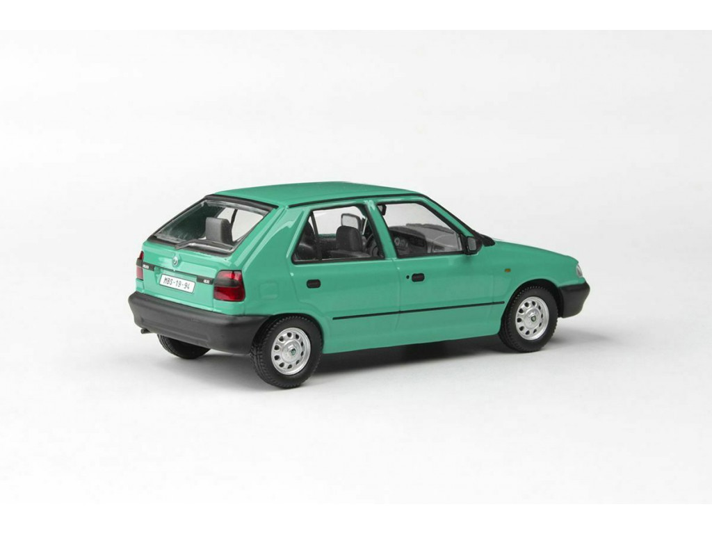 Abrex Skoda Felicia 1994 Green Atlantic 1 43 143abs709ht
