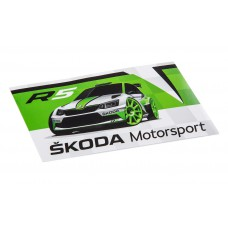 Sticker Skoda Motorsport