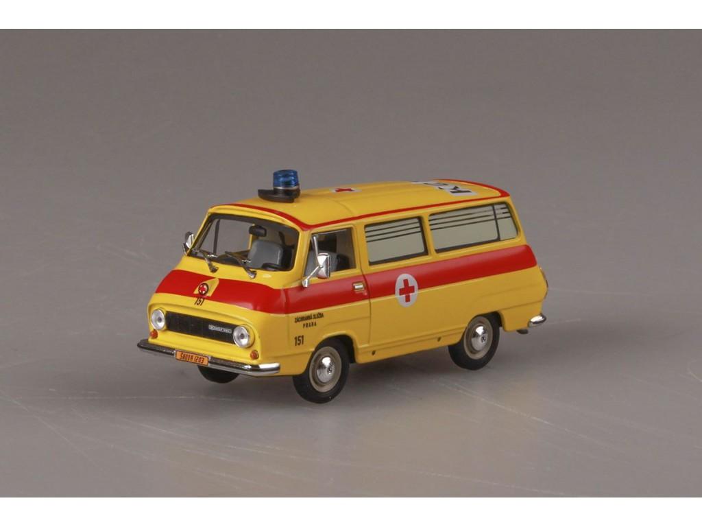 Abrex Skoda 1203 (1974) Ambulance - Rescue 1:43