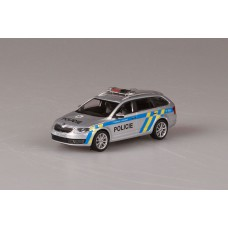 Octavia  III Combi Police CR 1:43