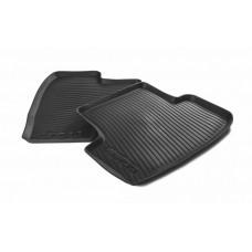 Skoda rear rubber foot mats Karoq